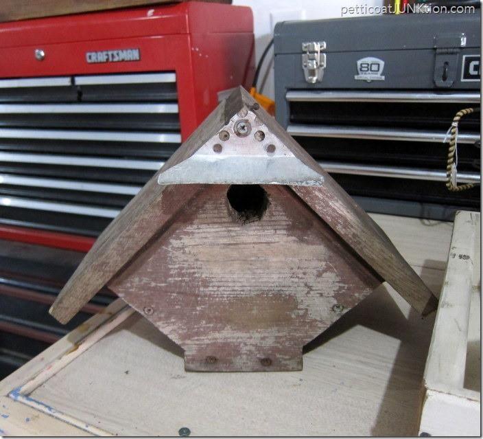 wood birdhouse Petticoat Junktion