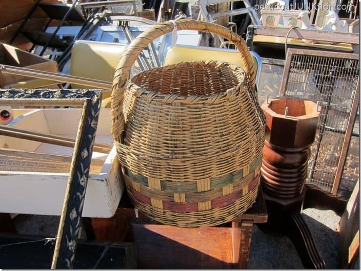 woven basket Petticoat Junktion