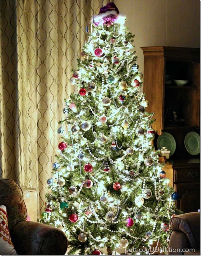 Christmas Tree lights Petticoat Junktion