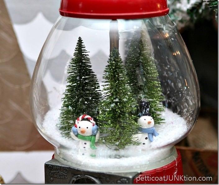DIY Gumball Machine SnowGlobe Petticoat Junktion