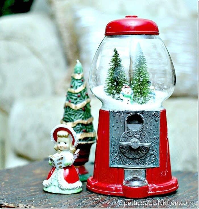 Gumball Snow Globe DIY for Christmas