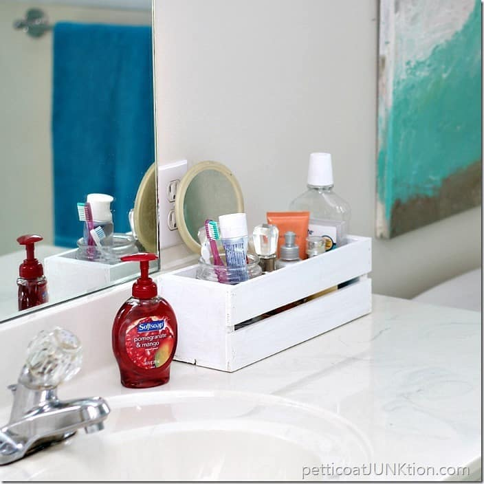 bathroom organization Petticoat Junktion