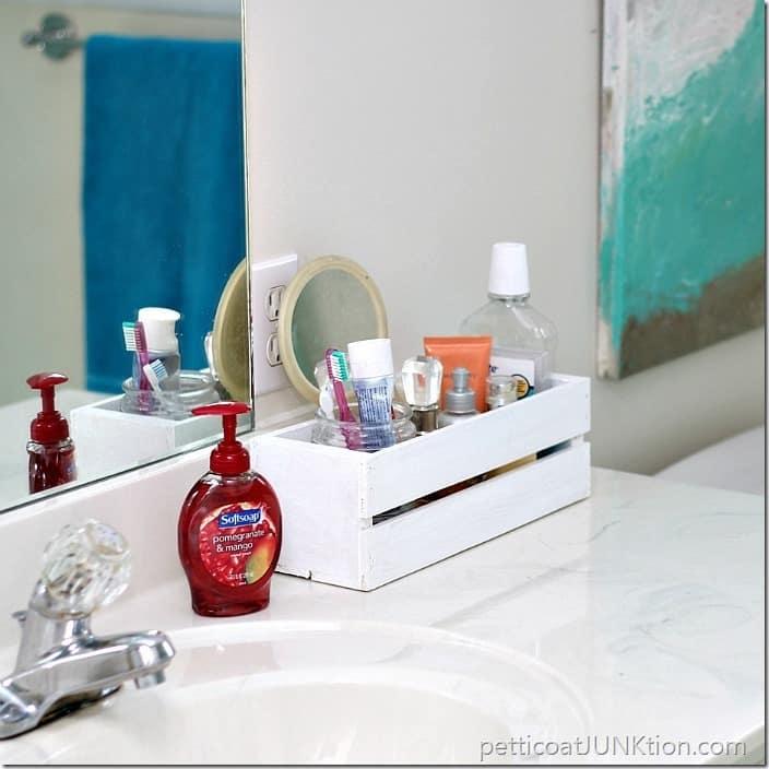 bathroom organization Petticoat Junktion
