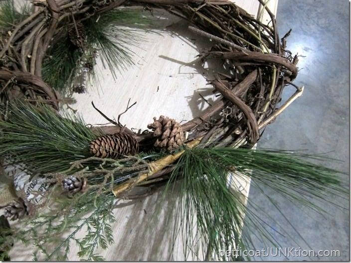 making a wreath Petticoat Junktion