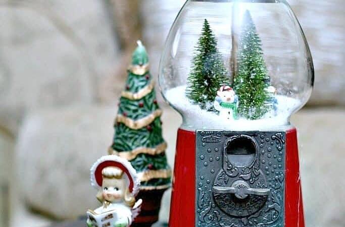 snowman globe