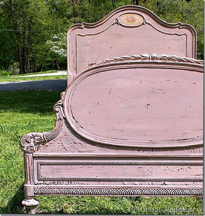 top 10 diy projects Miss Mustard Seed's Milk Paint project Petticoat Junktion Vintage Rose Bed