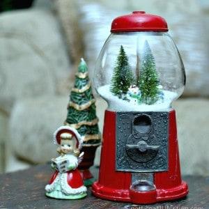 Who Needs Gumballs! DIY Gumball Machine SnowGlobe