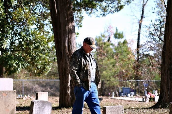 Dad At Old Owen Cemetery Griffith Springs Arkansas