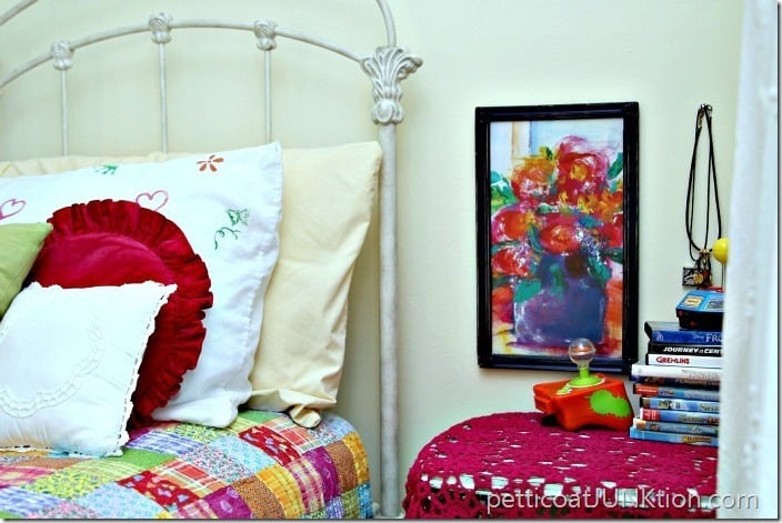 Frame Something Funky And Call It Art Petticoat Junktion diy project
