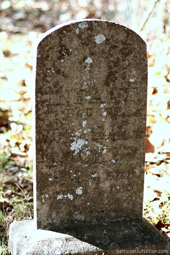 Headstone Owen Cemetary