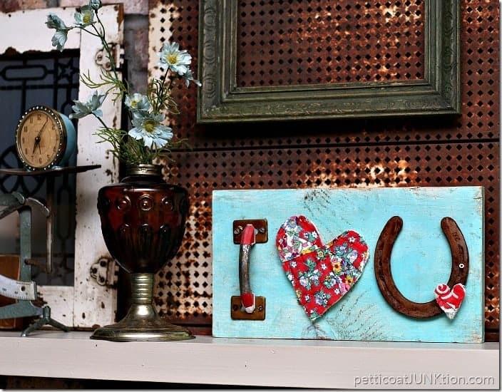 DIY Heart Love Sign Petticoat Junktion