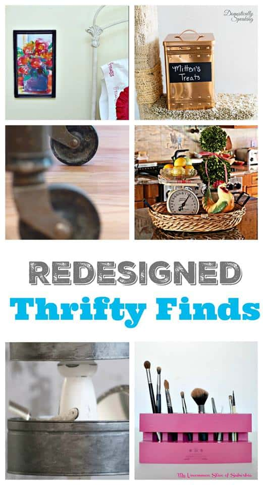 Redesigned Thrifty Finds Featuring Thrift Store Decor Petticoat Junktion
