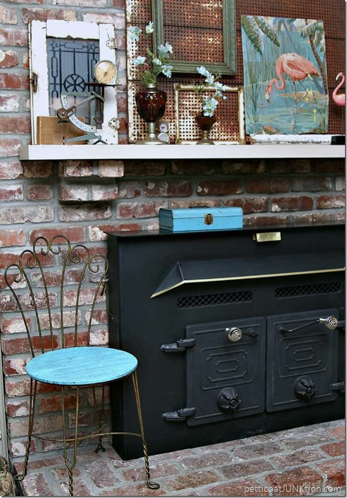 Showcase Your Decorating Style Mantel decor Petticoat JUnktion