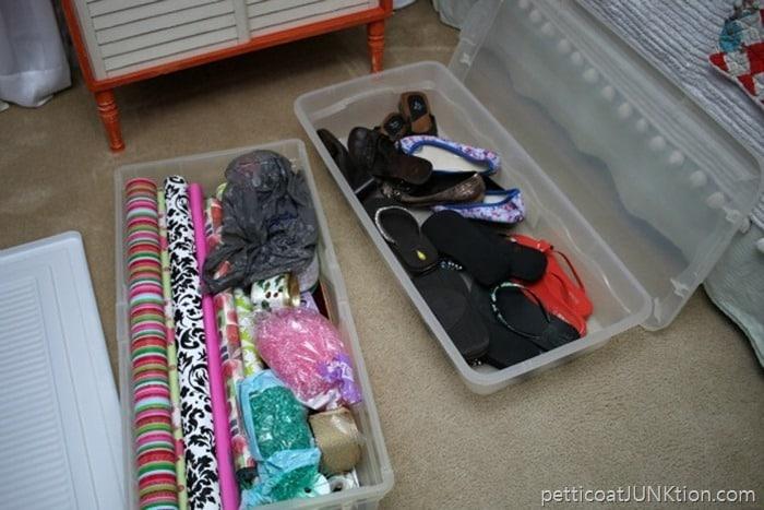 bedroom organization Petticoat Junktion 18