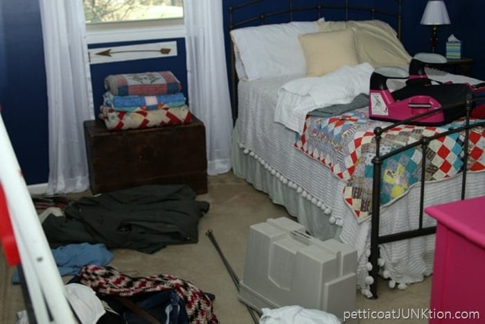 bedroom organization Petticoat Junktion 5