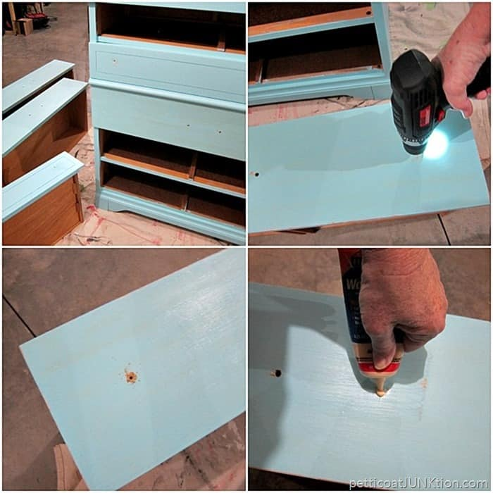 changing our furntiure hardware Petticoat Junktion