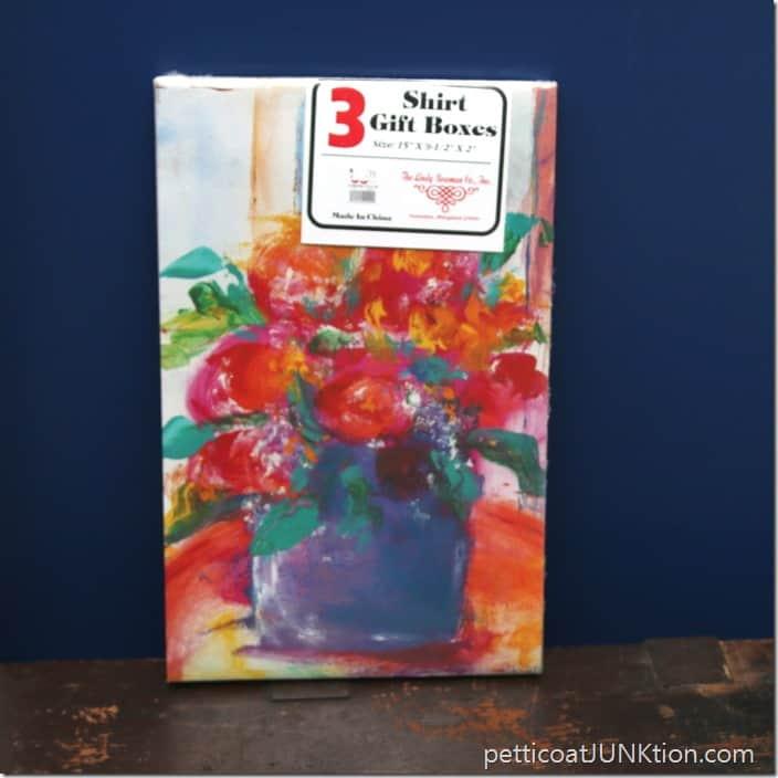 gift box art project Petticoat Junktion