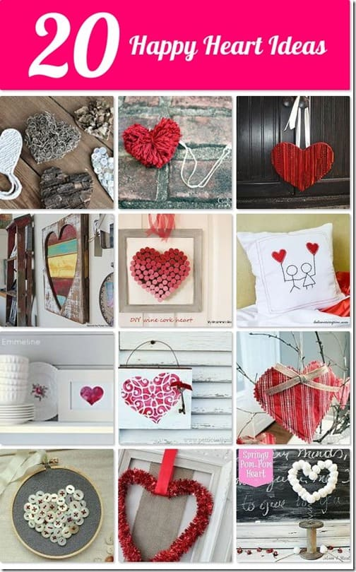 red heart crafts