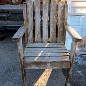 No Paint Makeover Or Anything Else For This Chair