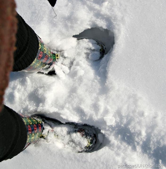 snow boots Petticoat Junktion