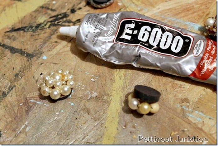 E6000 glue Petticoat Junktion magnet project