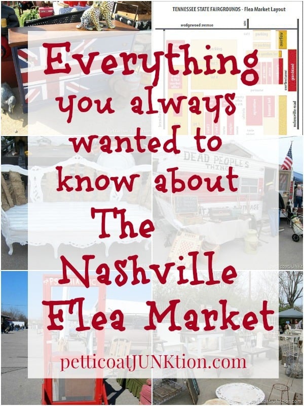 Everything You Always Wanted To Know About The Nashville Flea Market Petticoat Junktion answers your questions