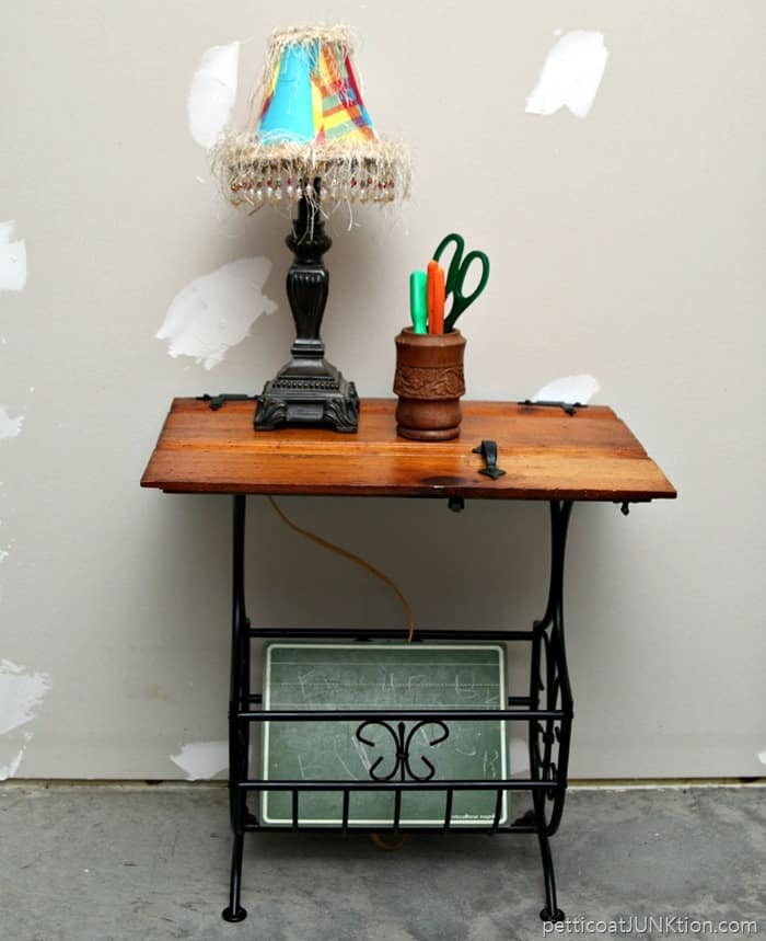 I Used A Funky Cabinet Door As A Table Top Petticoat Junktion With Repurposed  Cabinet Doors