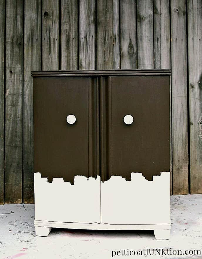 painted-furniture-inspired-by-chocolate-and-bhg-magazine-petticoat-junktion
