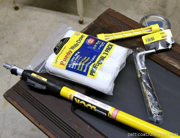 Purdy Paint supplies Petticoat Junktion paint project