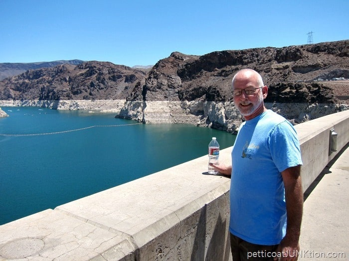 Ray at Hoover Dam