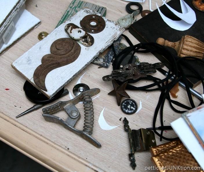 reclaimed junk art items Petticoat Junktion