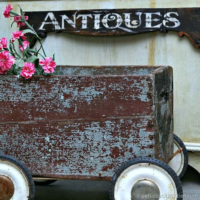 Antique Drawer Front Makes The Perfect Antiques Sign Petticoat Junktion