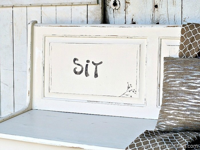 Farmhouse style furniture makeover full of surprises Petticoat Junktion