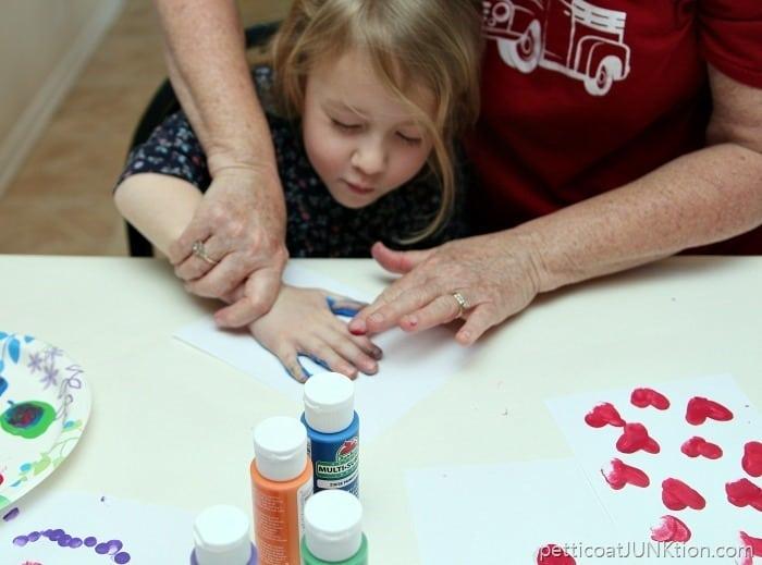 Handprint project Petticoat Junktion