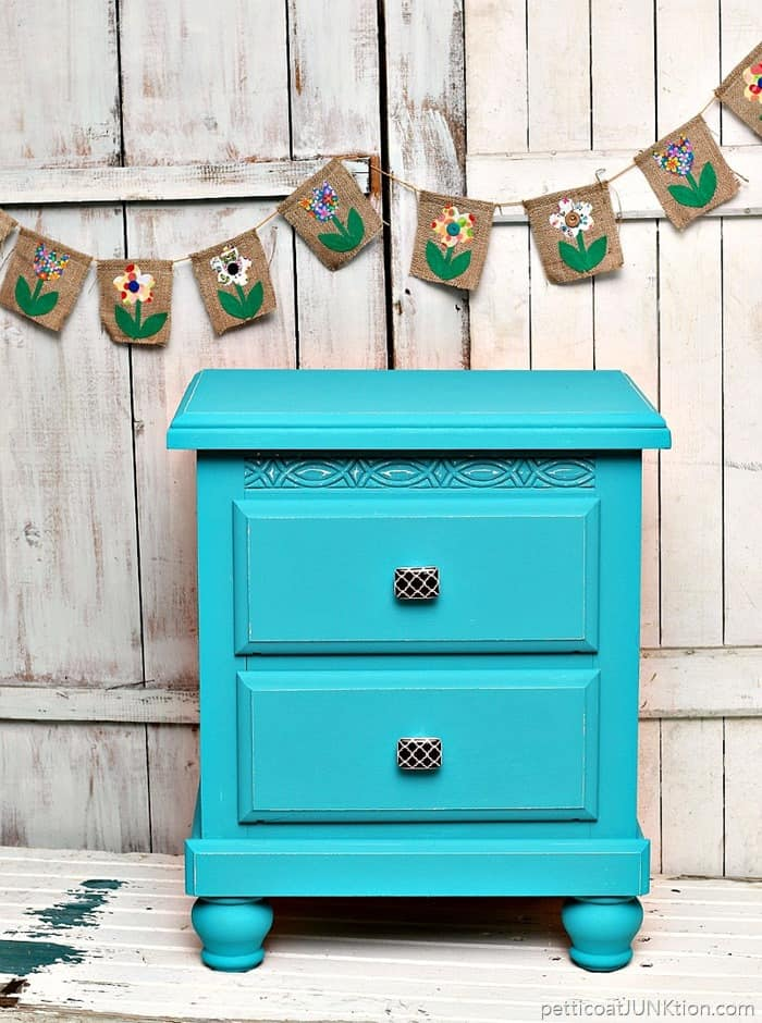 How Decorative Knobs Add Charm To Painted Furniture Petticoat Junktion project