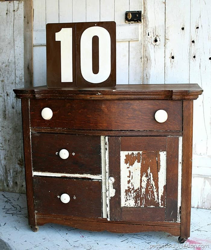 How To Love Antique Furniture Flaws And All Petticoat Junktion