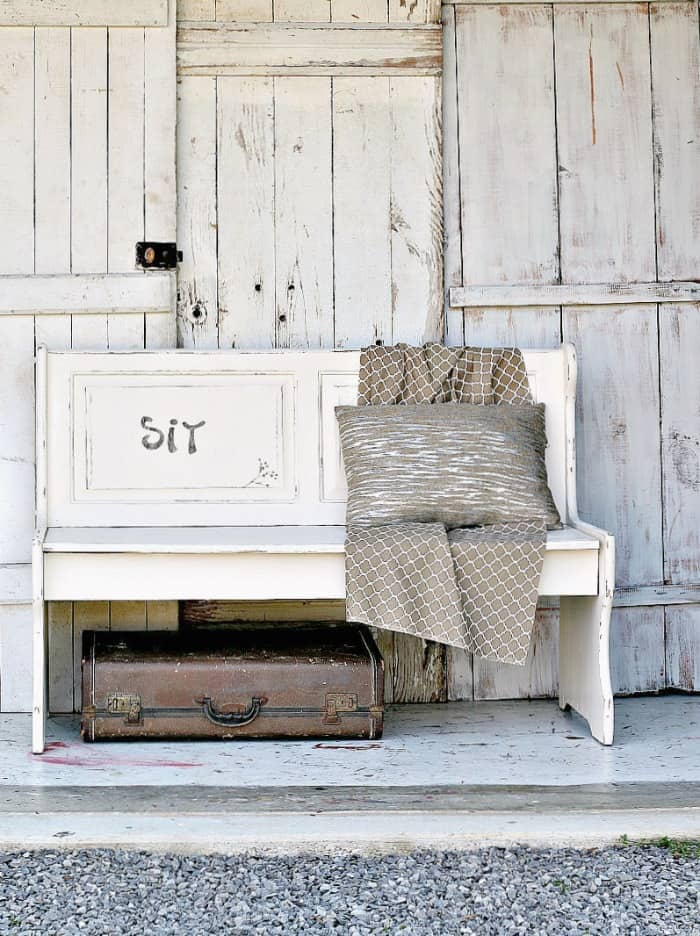 white-bench-painted-farmhouse-style-petticoat-junktion