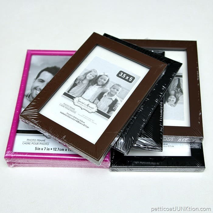 photo frames for paint project Petticoat Junktion