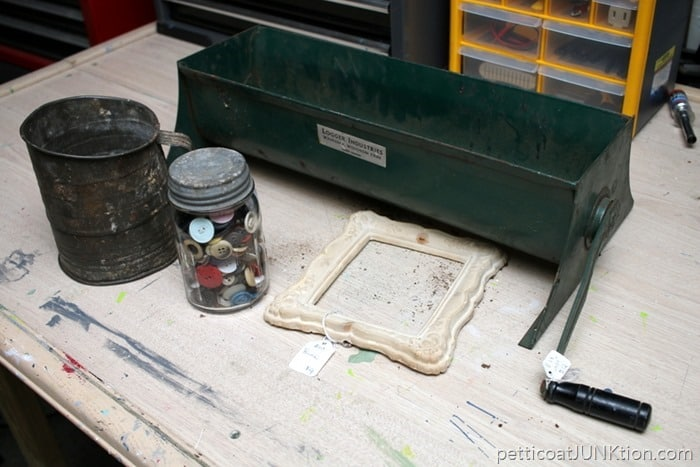 rusty junk finds Petticoat Junktion
