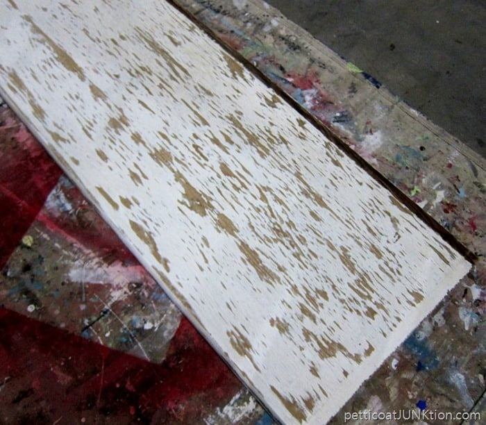 water damaged wood Petticoat Junktion