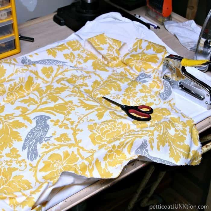 yellow Fabric Pettcoat Junktoin