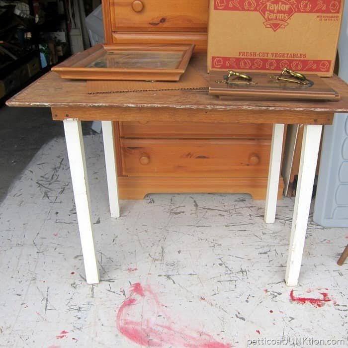 Junktion Technical Specialist auction buy Petticoat Junktion project table