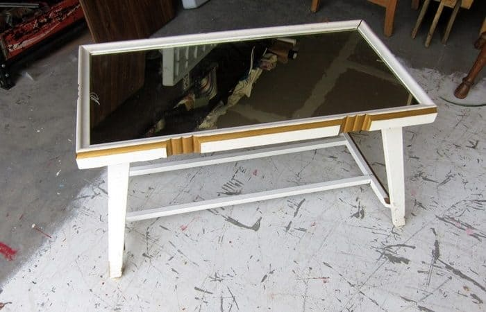 Mirror Top Coffee Table
