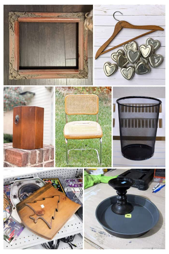 thrift store decor projects 2021