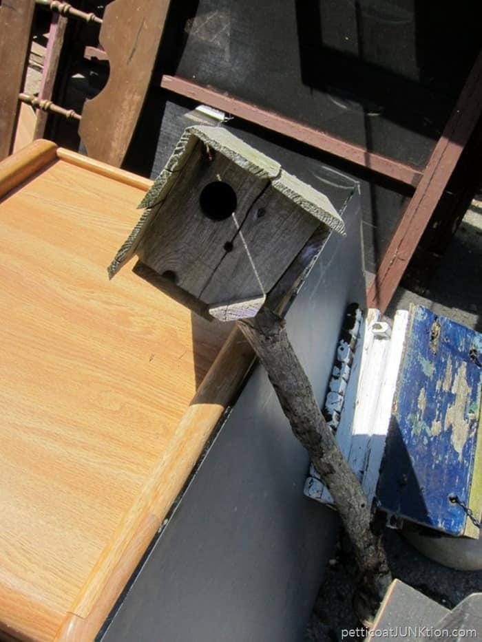 wood bird house Petticoat Junktion favorite junk shop