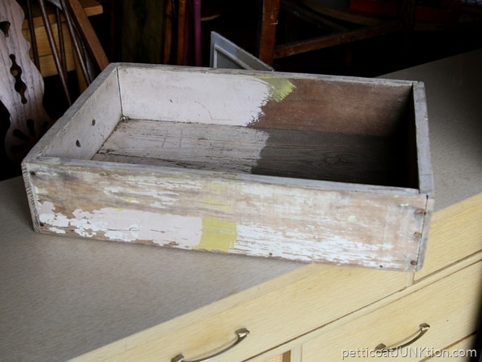Recycle An Old Wood Drawer