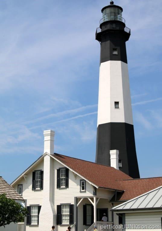 Lighthouse Tybee Island Georgia Petticoat Junktion vacation