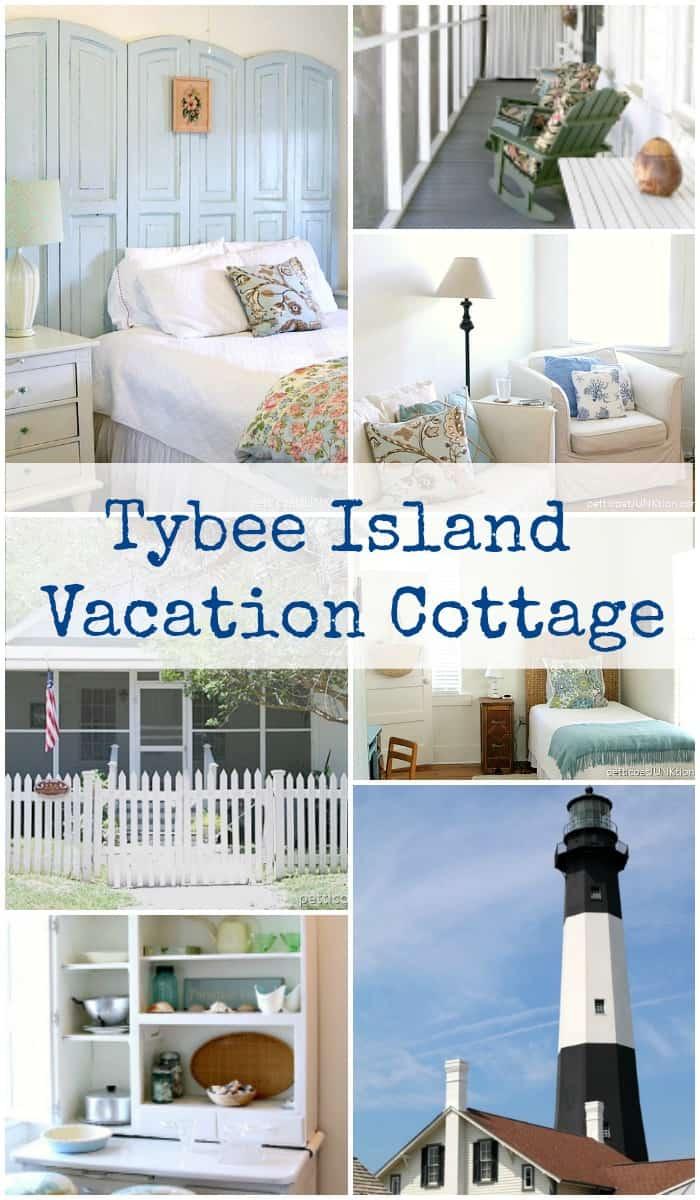 Tybee Island Vacation rental cottage, Tybee Island cottage rental