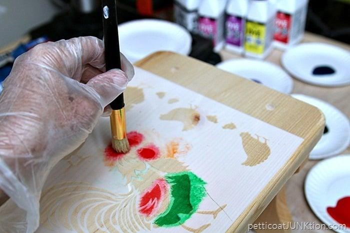 Ultra Dye Stencil Project Petticoat Junktion