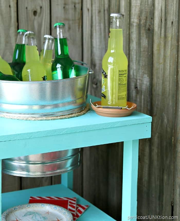 Beverage Station DIY Project Petticoat Junktion